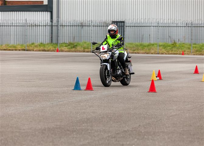 Motorcycle training with Inner Circle